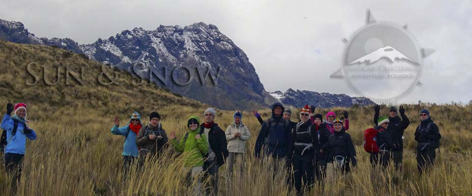 Ecuador highlands trekking